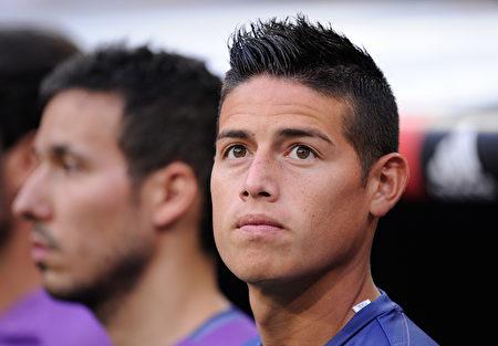 皇馬、哥倫比亞球星J羅租借加盟拜仁兩年,外加買斷條款。(Denis Doyle/Getty Images)