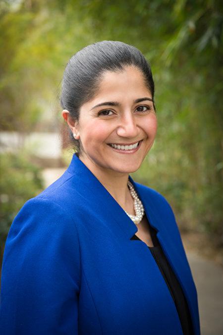 希望之城医学中心肿瘤外科的专家Dr. Laleh Melstrom为民众讲解乙肝与肝癌的关系。(保额本人提供)