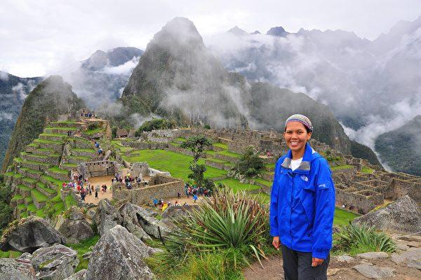 现居悉尼的林咏涵(Haan),于7月1日正式展开为期40天的网上众筹活动(Kickstarter campaign),为自行出版的第一本书寻找支持者。图为林咏涵在秘鲁的照片。(作者提供)