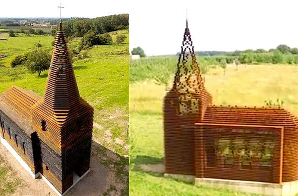 透明教堂(大纪元合成图)