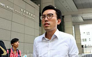 港社民連主席吳文遠投訴警方施暴