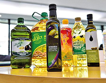消委会测试发现5款食油样本,塑化剂含量高于本港行动水平和欧盟标准的上限。(郭威利/大纪元)