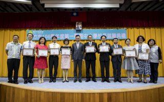 九所市立高中國中小校長就職 為學校帶來新氣象 。(新竹市府提供)