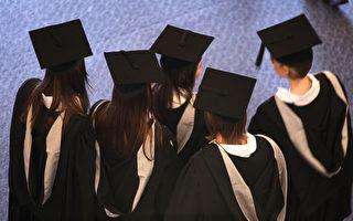 德勤經濟研究所(DAE)對高等教育為學生帶來的利益進行了研究。研究顯示對於那些獲得學士學位的人來說,大學教育帶來的私人利益平均占45%,公共利益占55%。( Christopher Furlong/Getty Images)