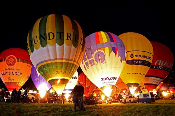 布里斯托热气球节(GettyImage)
