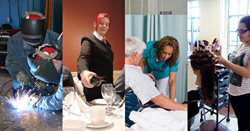 魁北克省教育部根據急需的專業人才,開設1800小時職訓課程,向國際學生招手。(天慧移民提供)
