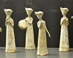 隋朝女乐师陶俑。瑞士雷特伯格博物馆(Museum of Rietberg)馆藏。(公有领域)