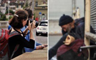 美女摄影师拍街友 竟拍到失散已久的失智父