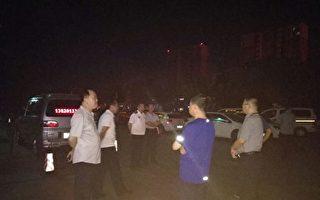 法輪功學員楊玉永被迫害致死。凌晨3點,特警出動在醫院搶遺體。(大紀元)