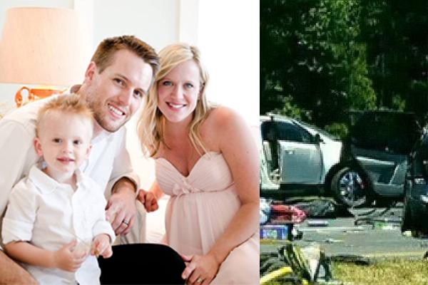 艾丁斯夫妇在车祸中痛失两爱子。 (大纪元合成)