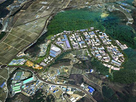 圖說:韓國京畿道平澤振威3產業區俯瞰圖。(韓國京畿道平澤振威3產業株式會社提供)