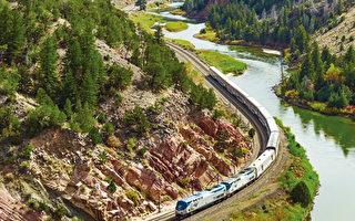 乘坐Amtrak环美旅游,美景无限。(shutterstock)