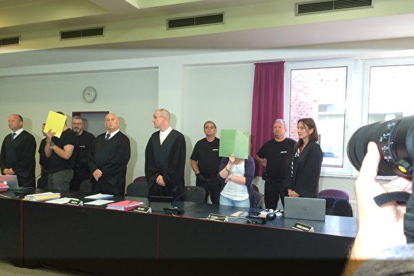 7月31日和8月1日,德國德紹地區法院對李洋潔案完成了最後的案情綜述,將於本週五(8月4日)宣判。(周仁/大紀元)