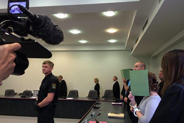 經過8個多月,35次庭審,留德女生李洋潔被姦殺案終於在8月4日宣判,此案引起了德國媒體和民眾的高度關切。(周仁/大紀元)