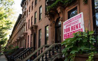 最近的一份報告顯示,紐約的租金上漲幅度是工資的兩倍。 (Drew Angerer/Getty Images)