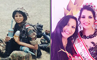 """从军官到""""印度夫人"""" 年轻寡妇的旅程鼓舞人心"""