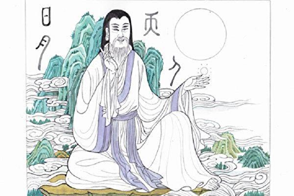 """传说造字之神仓颉生有""""双瞳四目""""。(大纪元)(大纪元)"""