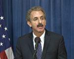 洛杉矶市总检察长麦克·福耶尔(Mike Feuer)。(李子文/大纪元)