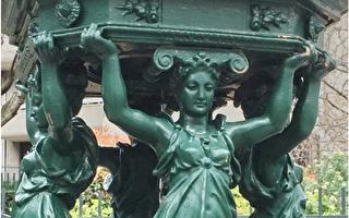 巴黎街头的仙女泉——华莱士饮泉