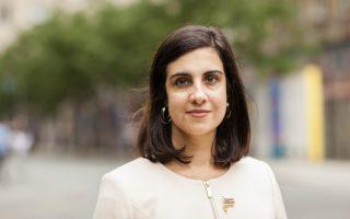纽约下届市长参选人、州共和党众议员玛丽奥。 (Samira Bouaou/大纪元)