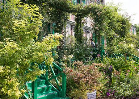 花園一角。(歐棒巴黎提供)
