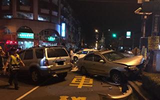 屏东万丹乡4日晚间发生一起重大车祸,共造成3死7伤。屏检认为肇事的杨姓女护理师有逃亡之虞,依杀人肇逃、过失伤害等罪声押获准。(提供)