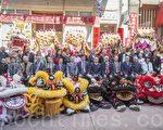 吴新兴委员长访问旧金山中国城至德三德公所,受到热烈欢迎。(曹景哲/大纪元)
