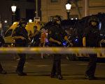 西班牙巴塞隆納17日發生廂型車衝撞人群事件,造成至少13人喪命,逾百人受傷。警方在該區採取維安措施。(安納杜魯新聞社提供/中央社)