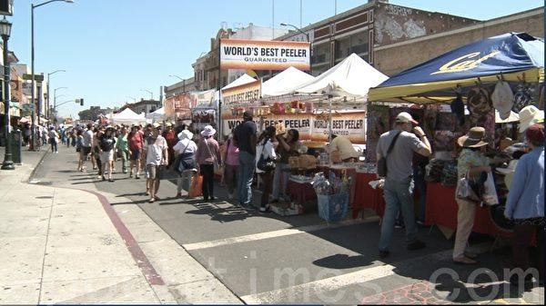 北加州奥克兰华埠街会 繁荣社区文化
