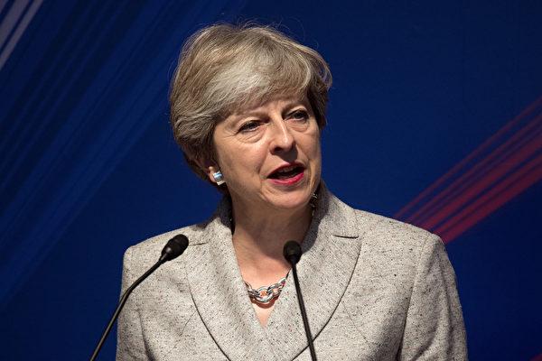 為了打破脫歐談判的僵局,英國首相特雷莎· 梅週五(22日)在歐洲歷史名城、意大利佛羅倫薩發表演說,闡述英國脫歐計畫。(Carl Court-Pool/Getty Images)