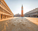 威尼斯最富盛名的圣马可广场(Piazza San Marco)。(shutterstock)