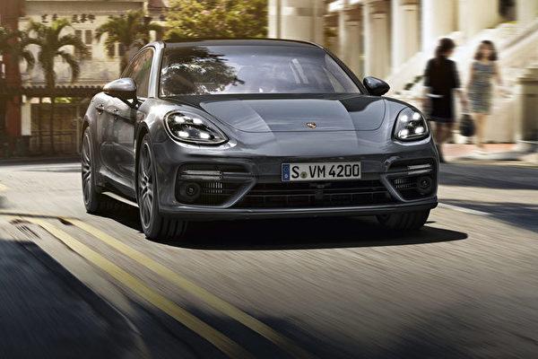 保時捷大型四門豪華車——Panamera。(Porsche提供)