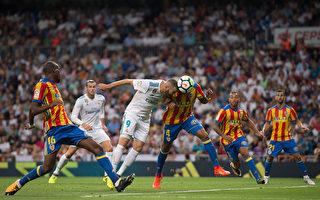 西甲第二轮 皇马被逼平 梅西助巴萨客胜
