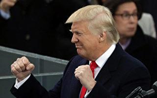 川普在8月16日的推文中說,金正恩停止對關島的威脅,是做出了明智、合理的決定。(Chip Somodevilla/Getty Images)