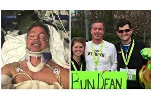 他被撞瘫反安慰司机 1年后正和医师3人准备路跑