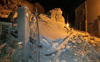 意大利地震 掌声中救援人员扒出婴儿