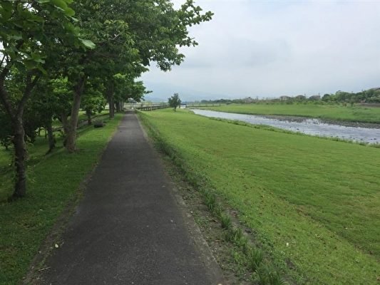 安農溪河畔。 (水利署提供 )
