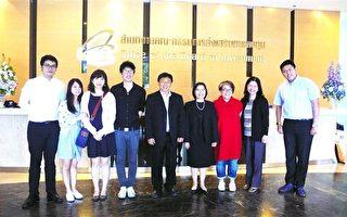 泰國投資促進委員會BOI總部。資深顧問 Bonggot Anuroj(右四)介紹 BOI 提供外商一站式服務。(記者盧玉珠/攝影)