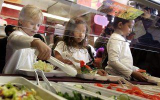 塔拉在網上發起集資行動,用籌到的錢付清同學們所有的午餐欠款。 (Tim Boyle/Getty Images)