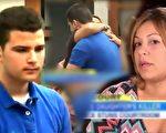 女儿被同学误杀,美国妈妈最终选择原谅他,并与他携手宣导枪支安全。(视频截图/大纪元合成)
