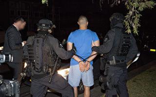 澳洲迪拜联合对有组织犯罪集团进行袭击行动