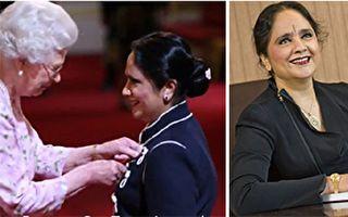 25岁文盲变大学校长 失学女获英女王颁勋章