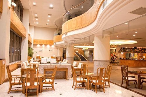 一楼交谊厅,是住户们联谊交流的好场所。(润福提供)