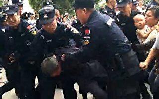 河南邓州数百学生家长抗议政府遭警镇压