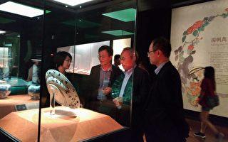 青花柳葉鳥紋盤將採日本傳統方法修復