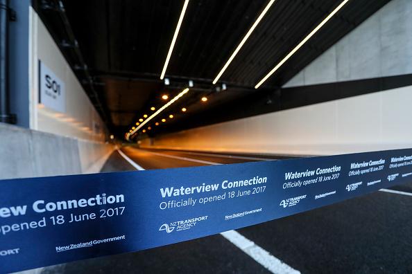 奥克兰水景隧道。(Simon Watts/Getty Images)