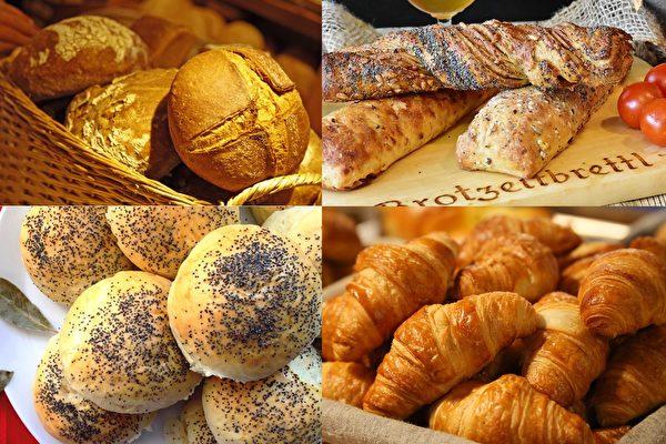 饥肠辘辘,吃不吃面包,吃多少面包,可以看出你前世去世的原因。(大纪元制图)