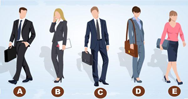 选出谁的职位更高 看你的性格-FB