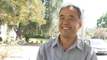 大學老師Tony Pu。(楊陽/大紀元)