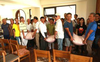 夢想新農水稻班結業 捐米做公益